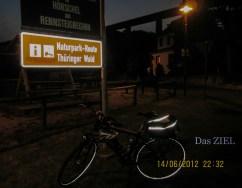 Über den Rennsteigradweg