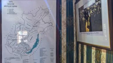"im Museumsdorf ""Talzy"" an der Angara"