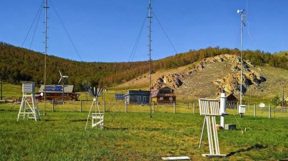 Wetterstation im Norden von Olchon