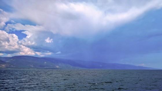 Im Kleinen Meer - Sturm aus der Sarma-Schlucht