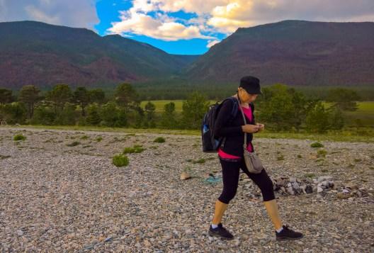 """Wanderung zu den """"Heiligen Quellen"""" des Baikal"""