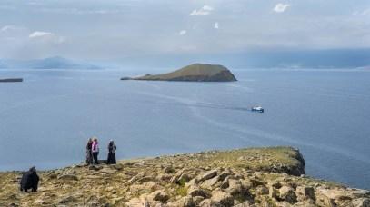 Im Süden der Insel Olchon - Blick auf Kleine Meer