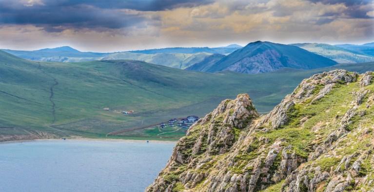 Exkursion in die Tazeran-Steppe am Großen Baikal