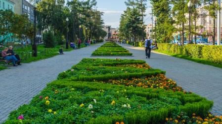 Irkutsk - am Lenin-Platz