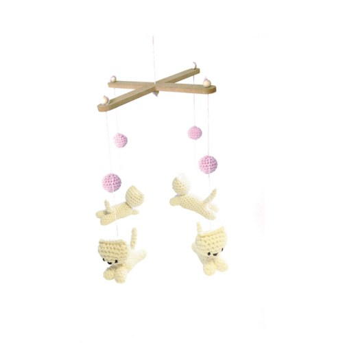 hardicraft mobile poesjes