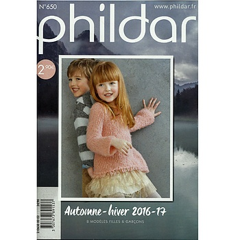 PHILDAR MINI CATALOGUS NR. 650