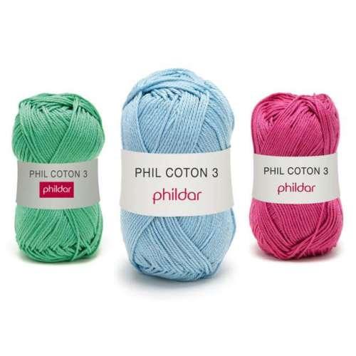 phildar phil coton 3