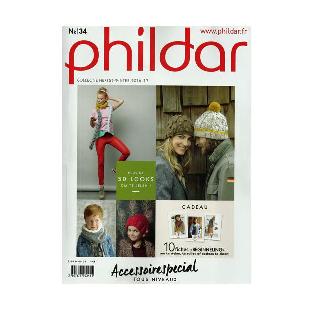 PHILDAR MAGAZINE NR. 134 ACCESSOIRES HERFST WINTER 2016-2017 - Woll ... 16d4026443ce