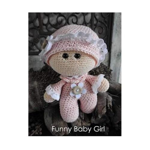 haakpakket funny baby girl