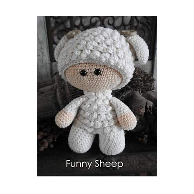 haakpakket funny sheep