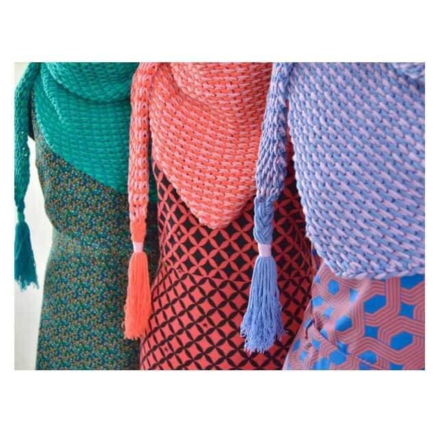 Haakpakket Ton Sur Ton Sjaal Byclaire Woll Of Fame