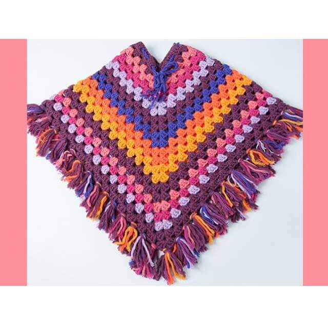 Durable Poncho Haakpatroon Woll Of Fame