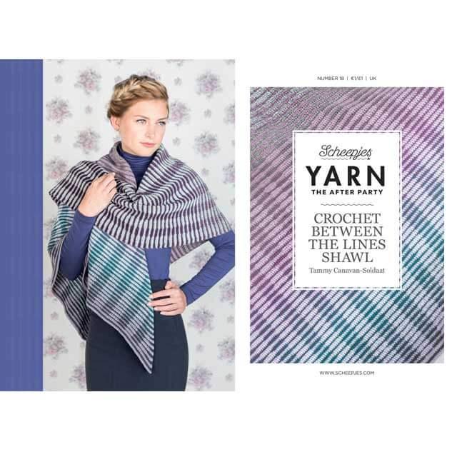 scheepjes yarn the afterparty nr 18 haakpatroon