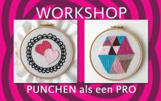 workshop punchen als een pro op 24 februari