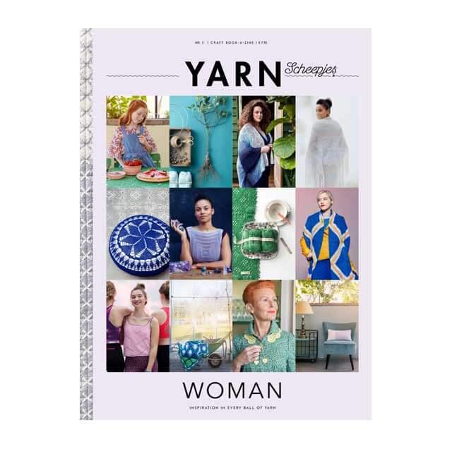 scheepjes bookazine yarn 5 woman
