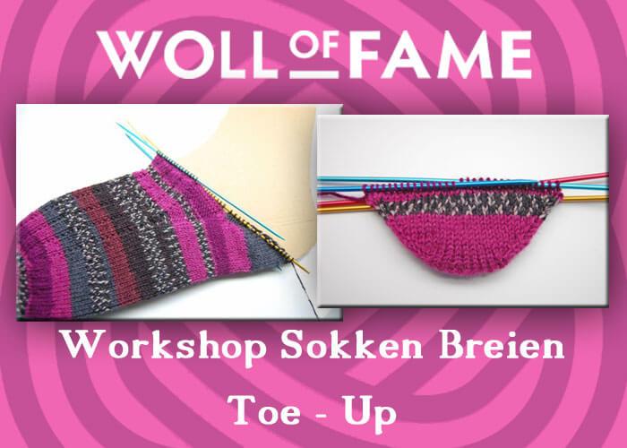 Workshop Sokken Breien Toe Up Nieuwe Extra Datums 30 Maart En 6
