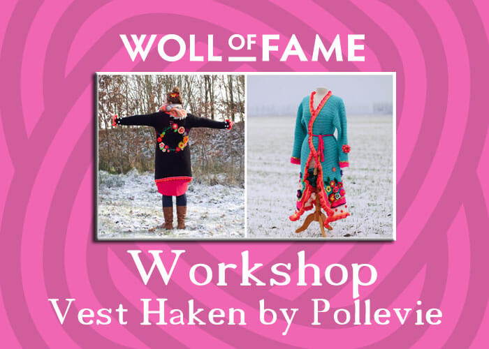 workshop vest haken by pollevie op 30 november