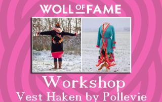 workshop vest haken by pollevie op 30 november