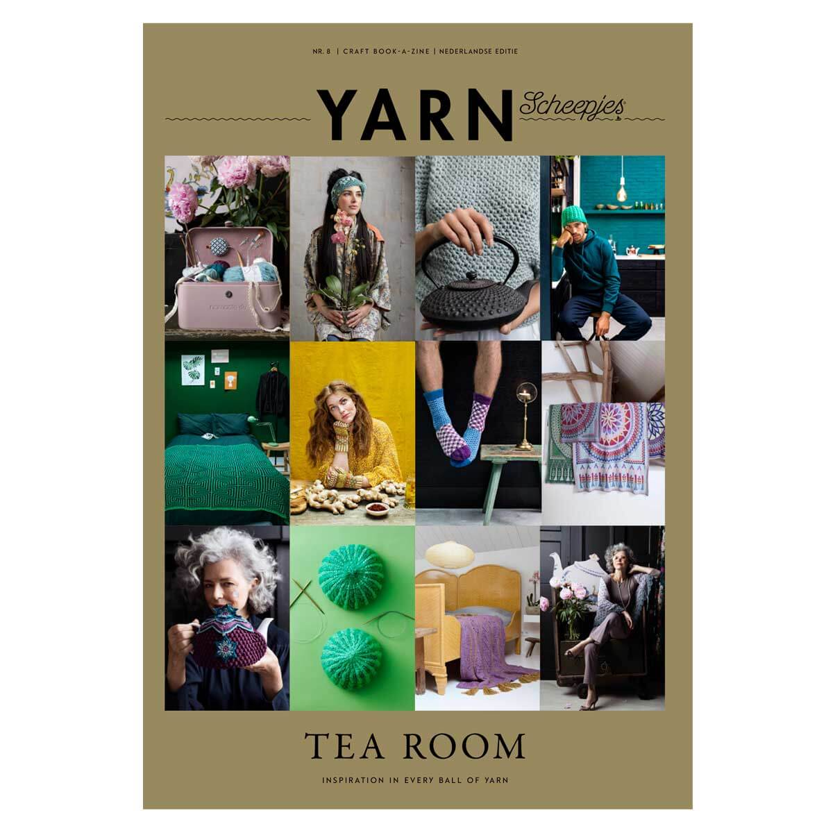 scheepjes bookazine yarn 8 tearoom