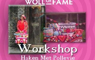 workshop haken met pollevie op 8 februari