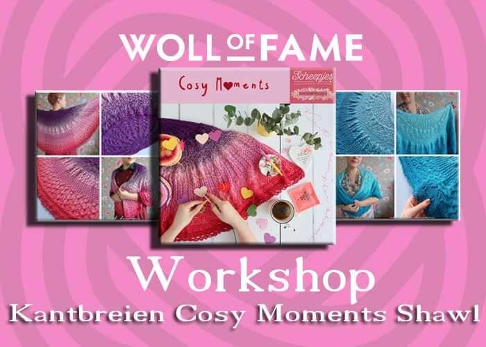 workshop kantbreien cosy moments shawl op 29 februari