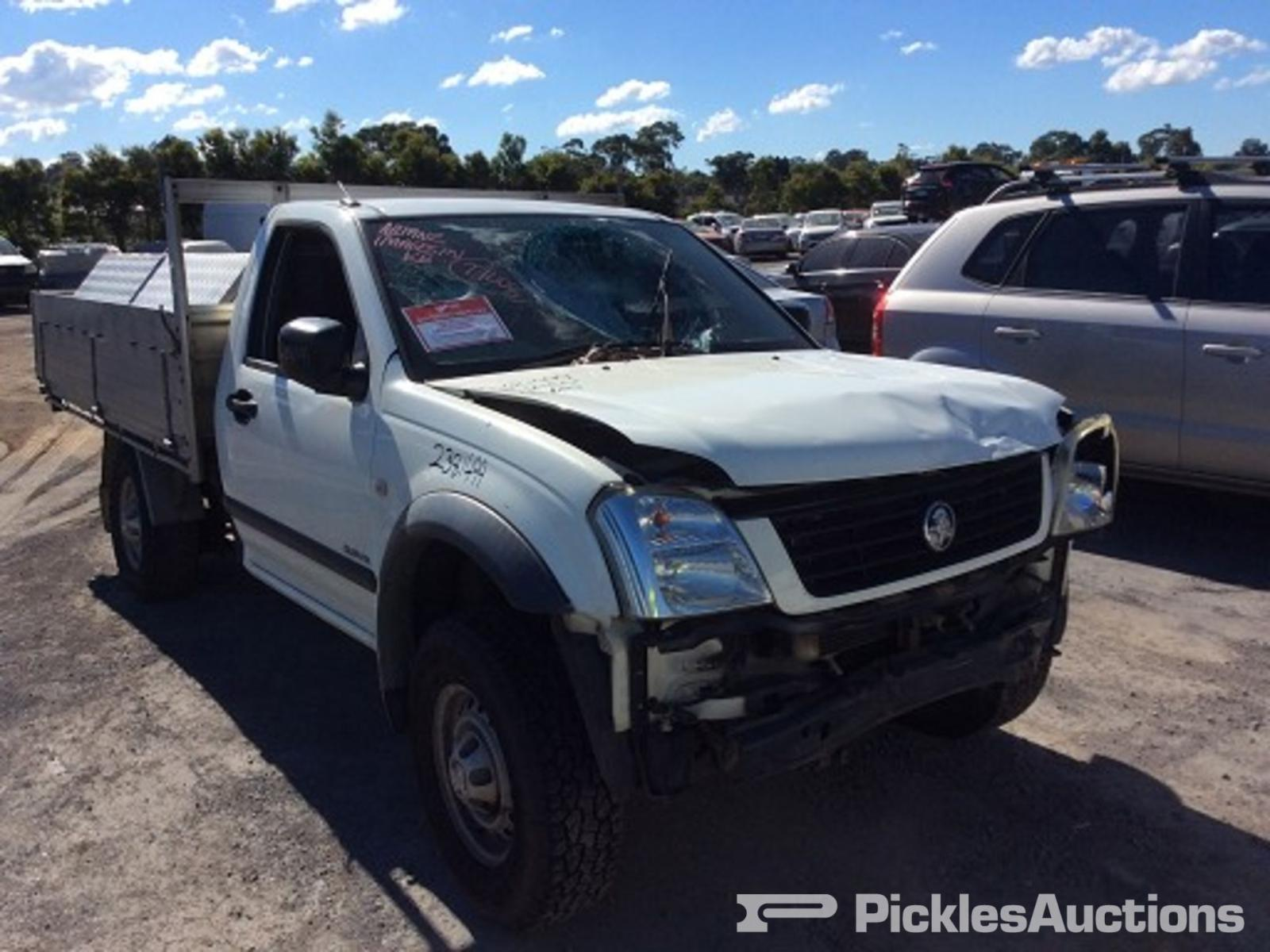 hight resolution of 2005 holden rodeo ra tray back 3 5l v6 petrol 5 speed