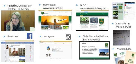Homepage, SOZIAL Media