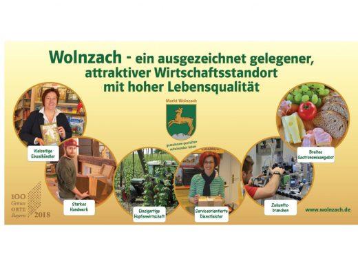 Wolnzach - ein ausgezeichnet gelegener, attraktiver Wirtschaftsstandort mit hoher Lebensqualität