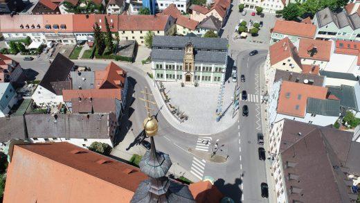 Rathausvorplatz Markt Wolnzach