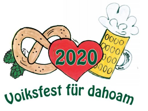 Voiksfest dahoam Logo