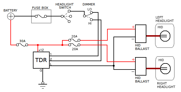 5 Pin Relay Wiring Schematic, 5, Free Engine Image For