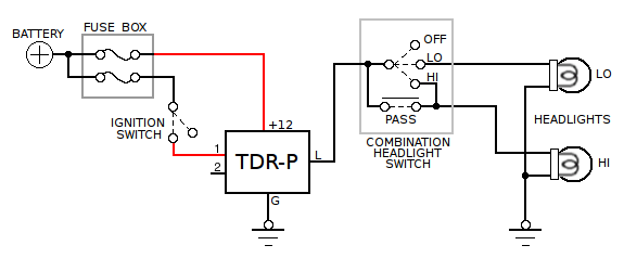 vehicle time delay relay