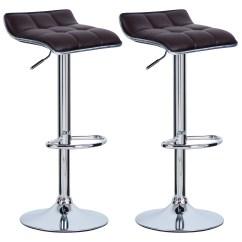 Stool Chair Adjustable Jenny Lind Rocking White Set Of 2 Bar Stools Barstool Breakfast Kitchen