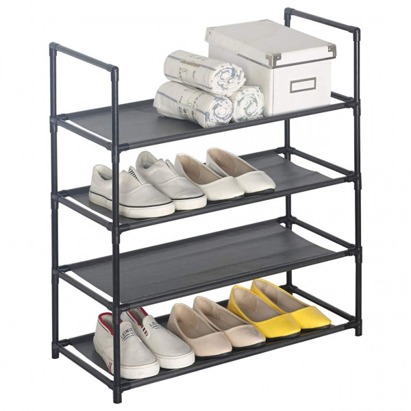 heavy duty shoe rack stand shelves storage organizer for shoes