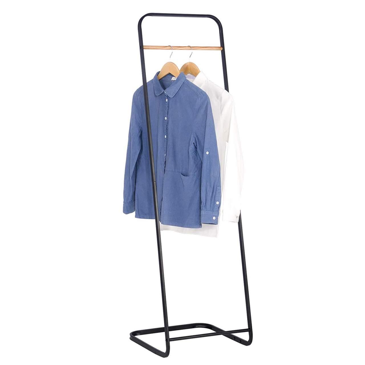 wall coat racks stand clothes rail heavy duty garment rack entrance hall hanging rack metal