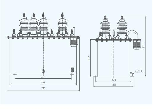JSJW-3,6,10(Q) Outdoor Voltage Transformer 6kV Outdoor