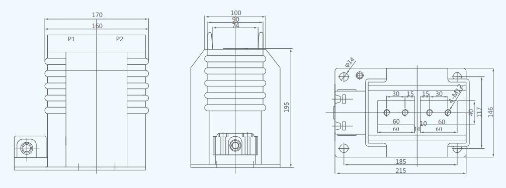 LZZBJ18-10 10kV Indoor Current Transformer Cast Resin