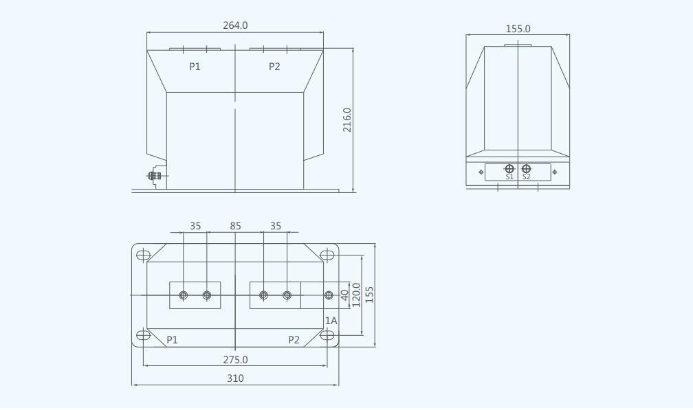 LZZBJ9-10 10kV Indoor Current Transformer Cast Resin