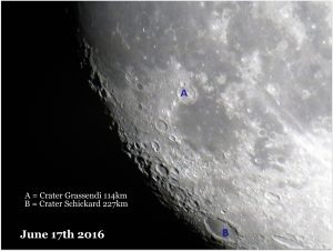 The Moon, June 17th 2016