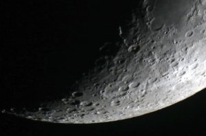 Pic 3: The moon (Richard Harvey. DSLR)