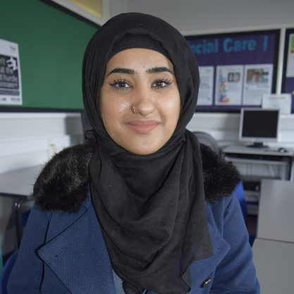 Photo of Ruqia Bi - Access to HE student