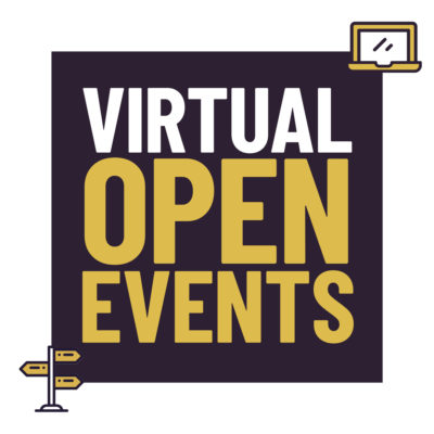 Virtual Open Events - 10-13 May 2021