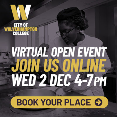 Virtual Open Event December 2nd Book your place