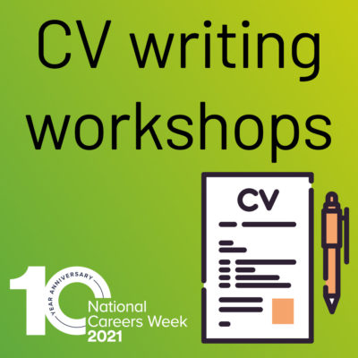 CV Writing Workshop - National Careers Week