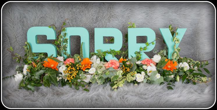 Sorry Flowers Wolverhampton  Flower Power Florist