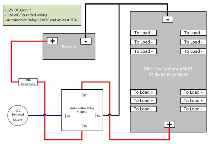 dc fuse block wiring diagram  cat 5 ethernet wire diagram