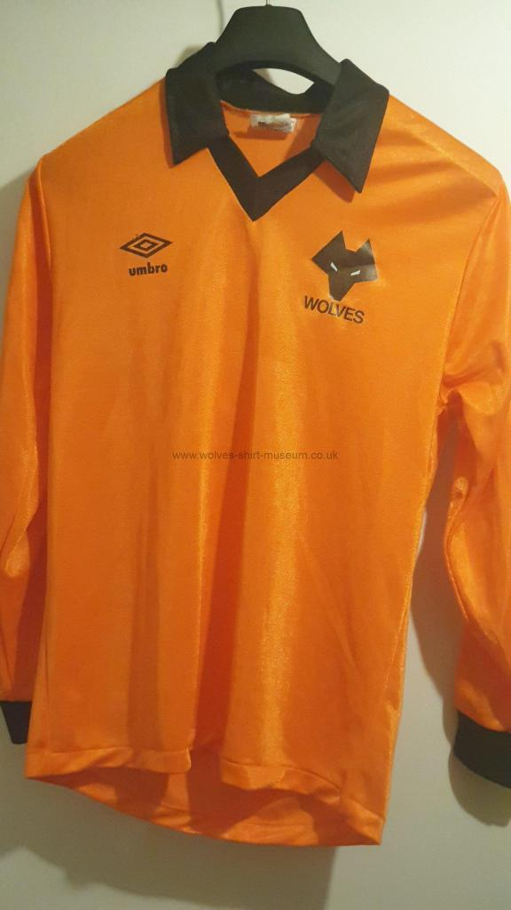 Wolves 1979-82 home shirt by Umbro - front