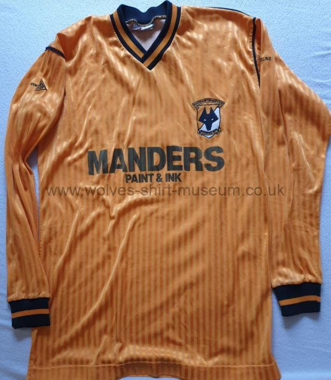 1988-1989 home shirt - front