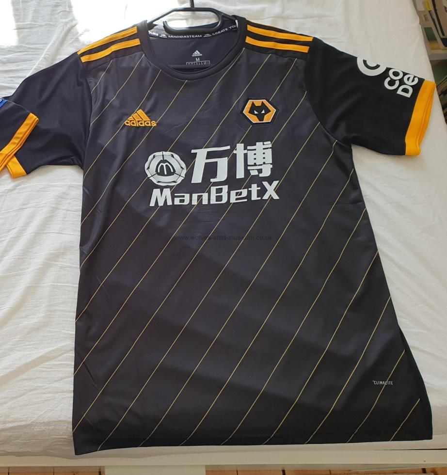 2019-2020 away shirt by Adidas - front