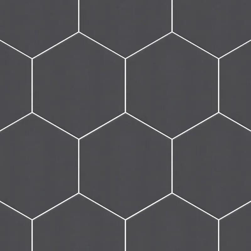 dark grey hexagon